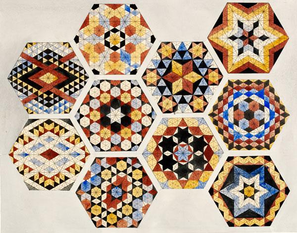 Owen jones alhambra y orientalismo curso del centro - Disenos textiles del mediterraneo ...