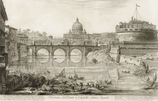 The Ponte (Bridge) and Castel S. Angelo