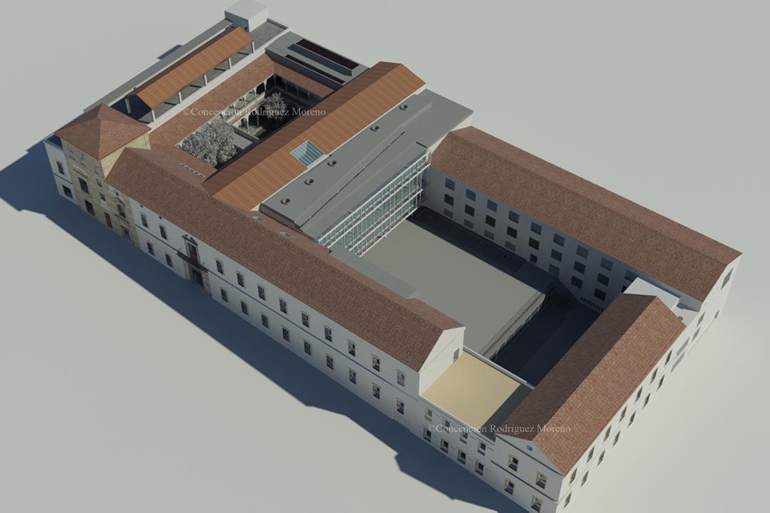 Laboratorio para el levantamiento y modelizaci n del for Cursos facultad de arquitectura